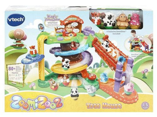 VTech ZoomiZooz Tree House Fun Toddler Activity Toy